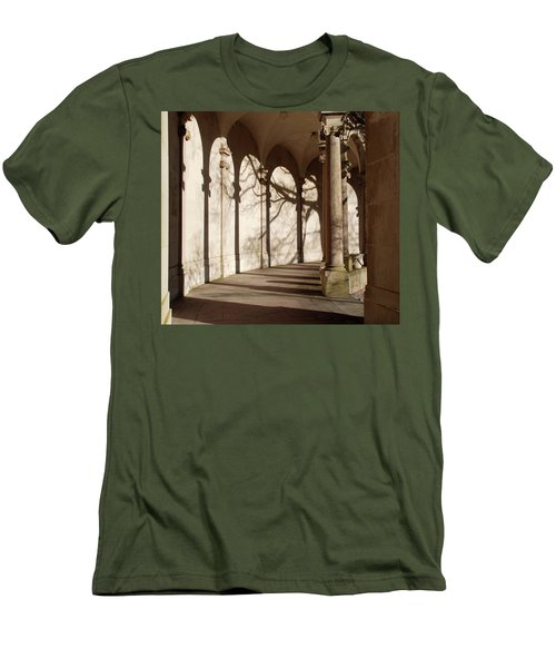 Men's T-Shirt (Slim Fit) featuring the photograph Shadows And Curves by Richard Bryce and Family