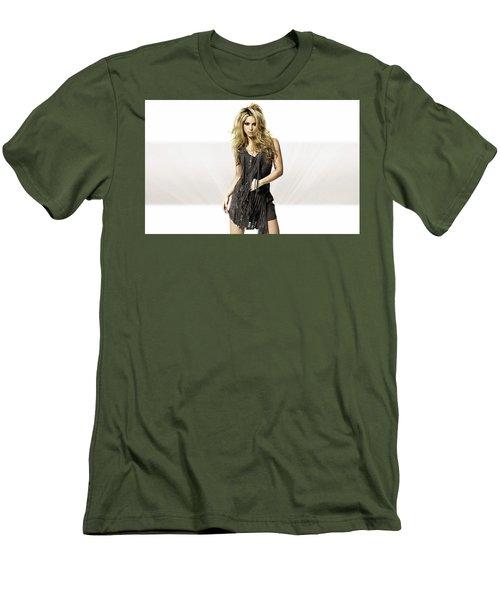 Shakira 2010 Photoshoot Men's T-Shirt (Athletic Fit)