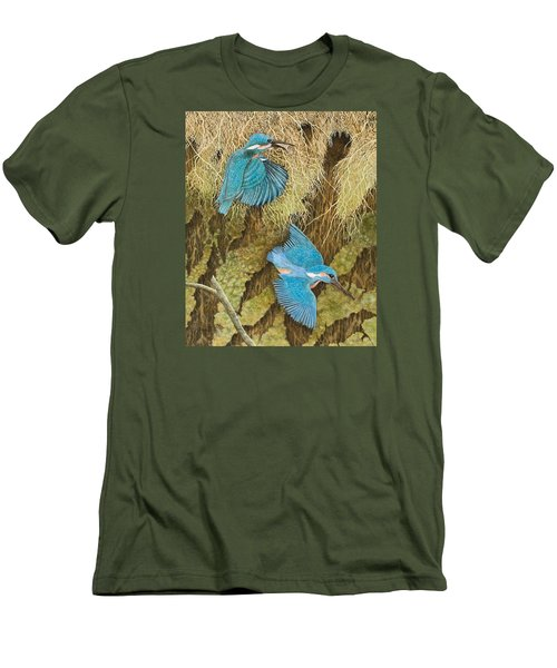 Sharing The Caring Men's T-Shirt (Slim Fit) by Pat Scott
