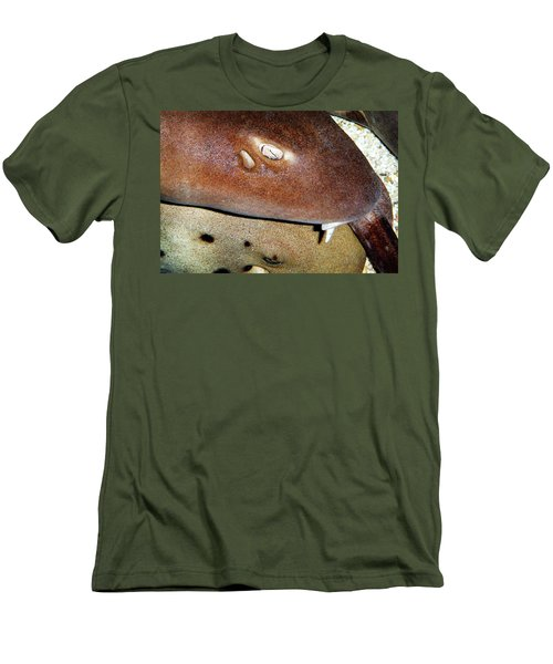 Men's T-Shirt (Slim Fit) featuring the photograph Sharks by Anthony Jones