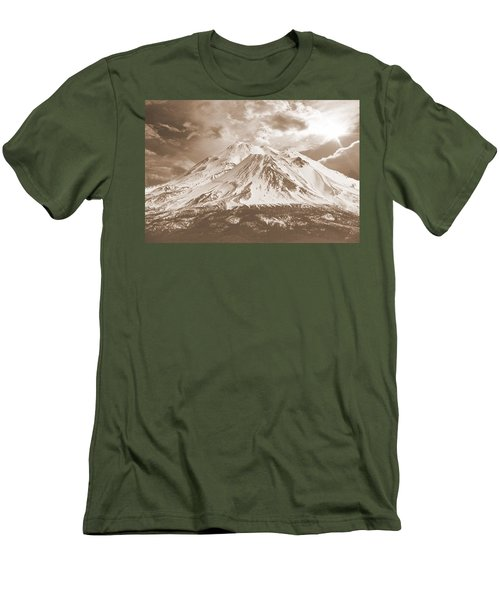 Shasta Mt Men's T-Shirt (Athletic Fit)