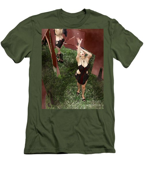 Shattered Reflection Men's T-Shirt (Athletic Fit)