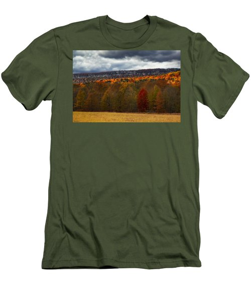 Shawangunk Mountains Hudson Valley Ny Men's T-Shirt (Athletic Fit)