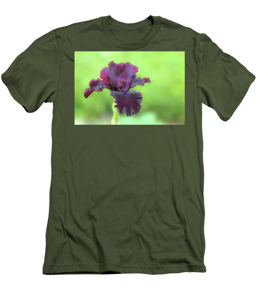 Men's T-Shirt (Athletic Fit) featuring the photograph Sheer Elegance by Deborah  Crew-Johnson