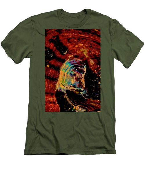 Shell Space Men's T-Shirt (Slim Fit) by Gina O'Brien