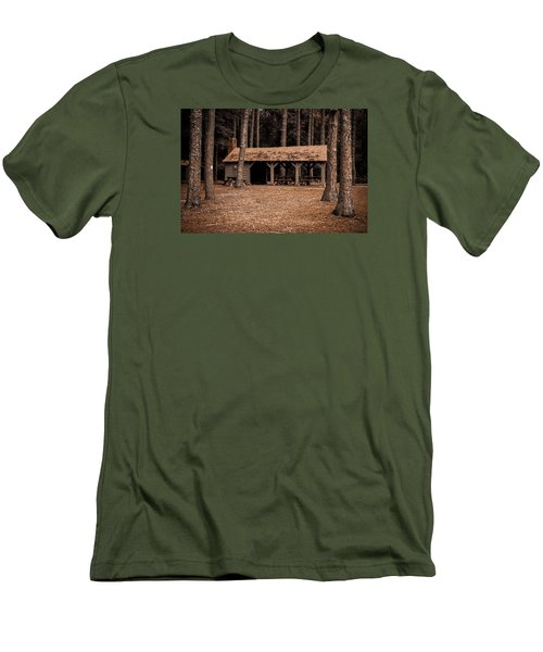 Shelter In The Woods Men's T-Shirt (Athletic Fit)