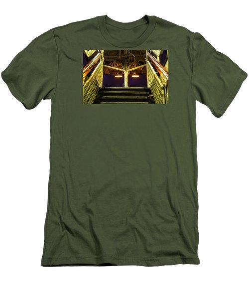Sheridan L Stop V3 Men's T-Shirt (Slim Fit) by Raymond Kunst