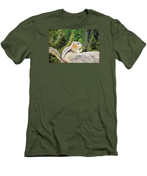 Shhhh Quiet Please Men's T-Shirt (Athletic Fit)