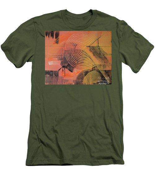 Shimmer Men's T-Shirt (Slim Fit) by Melissa Goodrich
