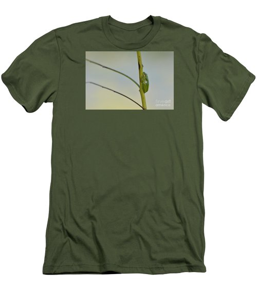 Men's T-Shirt (Slim Fit) featuring the photograph  Doris Day Shining Bright by Kathy Gibbons