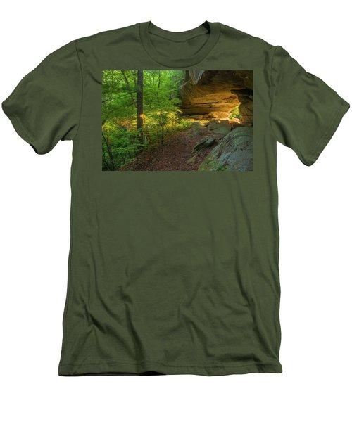 Shining Through.... Men's T-Shirt (Slim Fit) by Ulrich Burkhalter