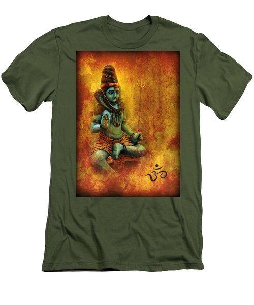 Shiva Hindu God Men's T-Shirt (Athletic Fit)