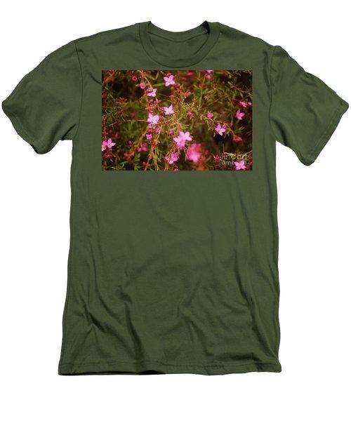 Shower Of Pink Men's T-Shirt (Athletic Fit)