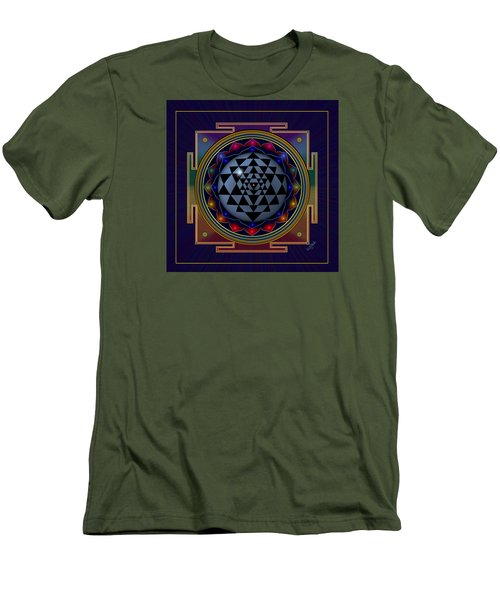 Shri Yantra Men's T-Shirt (Athletic Fit)