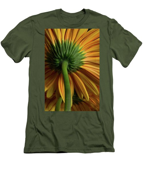 Shy Daisies Men's T-Shirt (Athletic Fit)