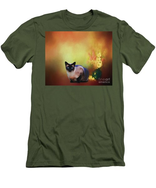 Siamese If You Please Men's T-Shirt (Slim Fit) by Suzanne Handel