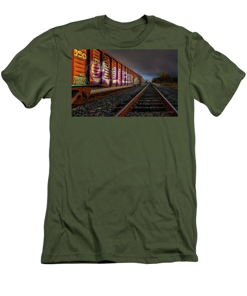 Sidetracked Men's T-Shirt (Athletic Fit)