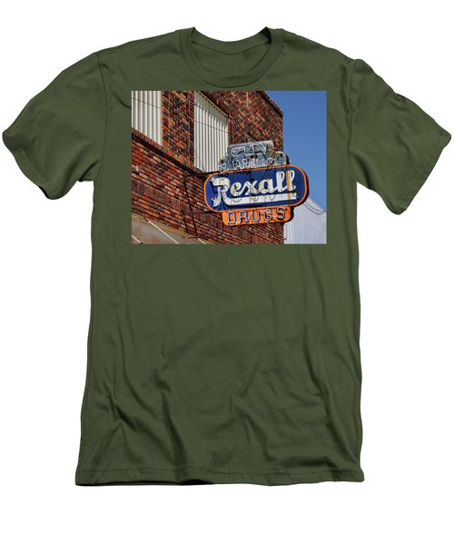 Sign Of The Past Men's T-Shirt (Slim Fit) by David and Carol Kelly