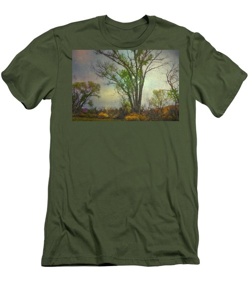 Men's T-Shirt (Slim Fit) featuring the photograph Signs  by Mark Ross