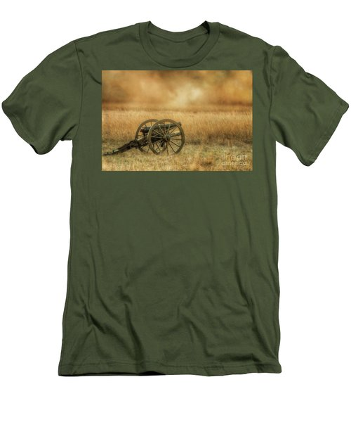 Silent Cannons At Gettysburg Men's T-Shirt (Athletic Fit)