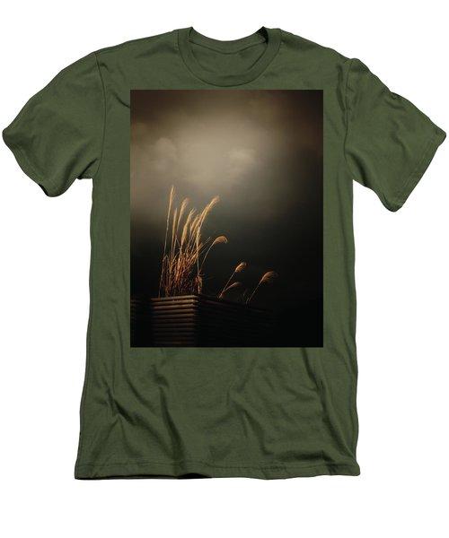 Silver Grass Men's T-Shirt (Slim Fit) by Rachel Mirror