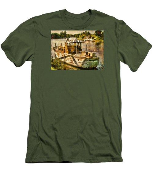 Silver Sonnet Men's T-Shirt (Athletic Fit)