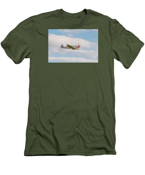 Silver Spitfire Men's T-Shirt (Athletic Fit)
