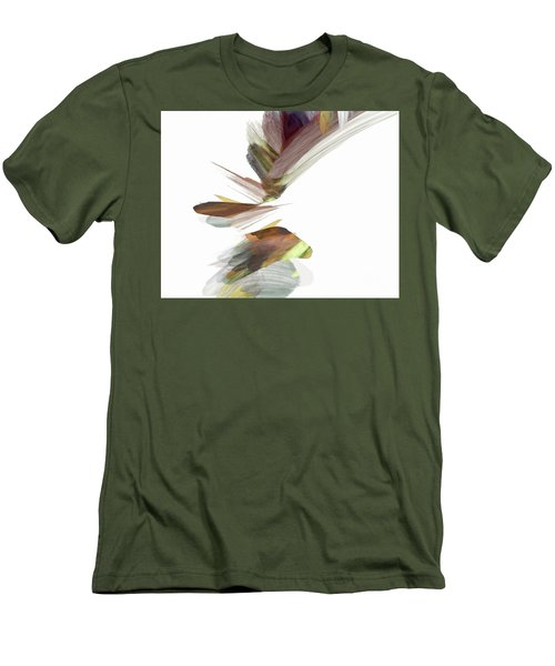 Men's T-Shirt (Athletic Fit) featuring the digital art Simple Strokes by Margie Chapman