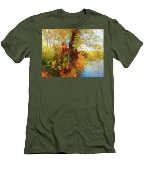 Simply Autumn Men's T-Shirt (Athletic Fit)