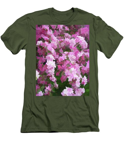 Men's T-Shirt (Athletic Fit) featuring the photograph Simply Soft Beautiful Blossoms by Aimee L Maher Photography and Art Visit ALMGallerydotcom