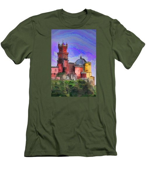 Sintra Palace Men's T-Shirt (Slim Fit) by Dennis Cox WorldViews