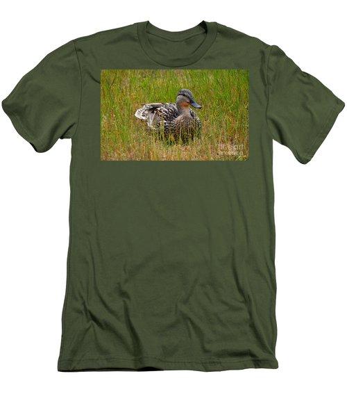 Sitting Duck Men's T-Shirt (Athletic Fit)