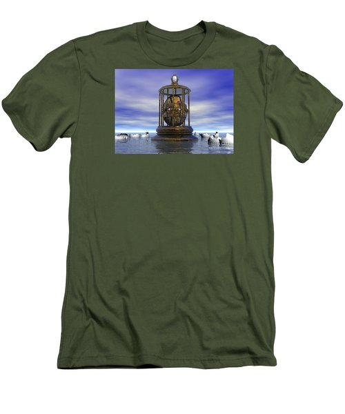 Sixth Sense - Surrealism Men's T-Shirt (Slim Fit) by Sipo Liimatainen