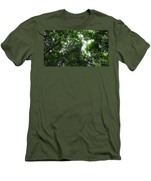 Skagway Green Men's T-Shirt (Athletic Fit)