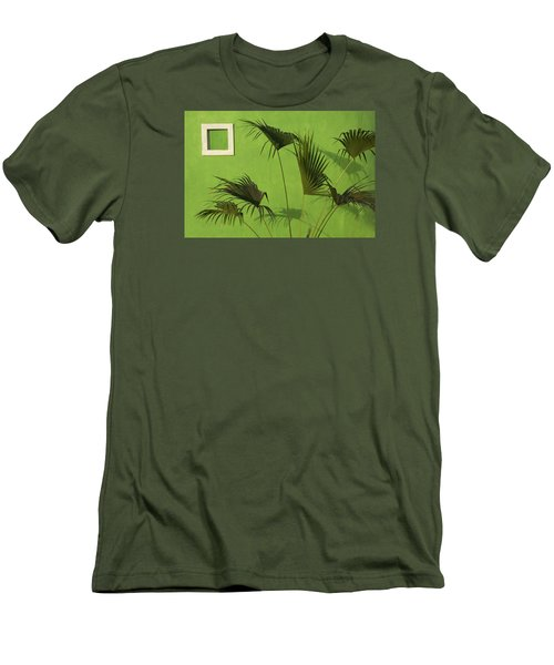 Skc 0683 Nature Outside Men's T-Shirt (Athletic Fit)