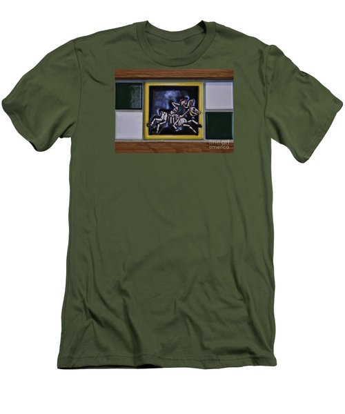 Skeleton Horse Men's T-Shirt (Athletic Fit)