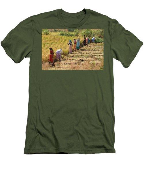 Skn 2611 Joint Effort Color Men's T-Shirt (Athletic Fit)
