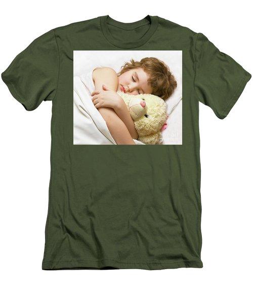 Sleeping Boy Men's T-Shirt (Slim Fit) by Irina Afonskaya