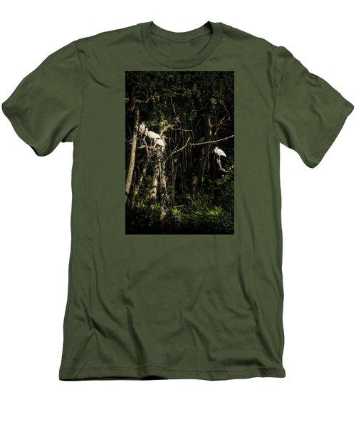 Sleeping Quarters Men's T-Shirt (Athletic Fit)