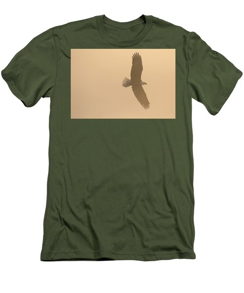 Slicing Through The Fog Men's T-Shirt (Slim Fit) by Brook Burling