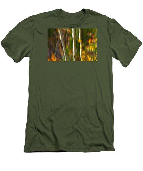 Slipping Through  Men's T-Shirt (Slim Fit) by Mark Ross