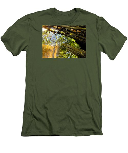 Slow Creek Men's T-Shirt (Slim Fit) by Adria Trail