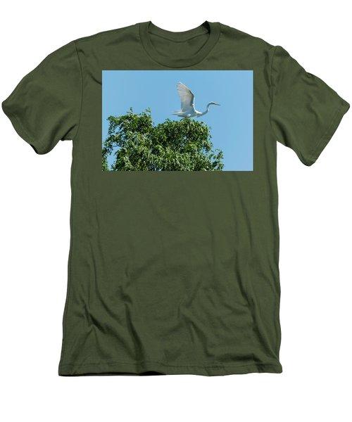 Smith Creek Men's T-Shirt (Slim Fit) by Steven Richman