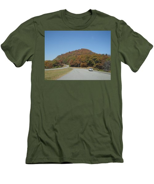 Smokies 10 Men's T-Shirt (Slim Fit) by Val Oconnor