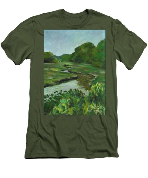 Snake Like Creek I Me Men's T-Shirt (Athletic Fit)