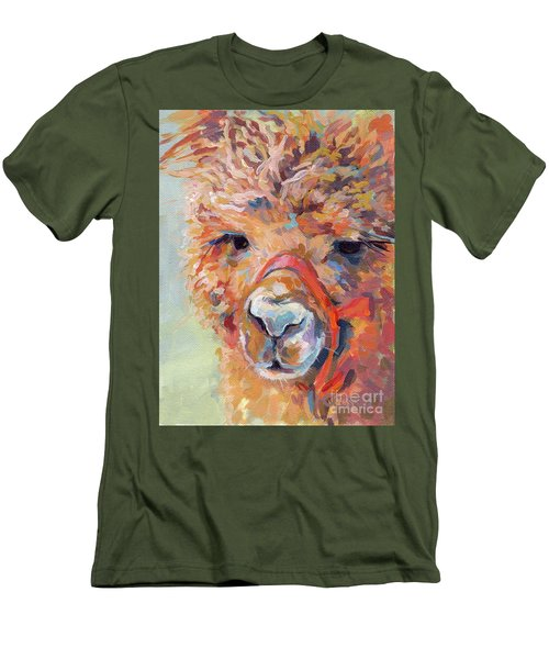 Snickers Men's T-Shirt (Slim Fit) by Kimberly Santini