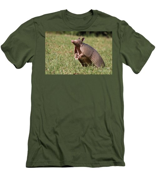 Sniffing The Air Men's T-Shirt (Athletic Fit)