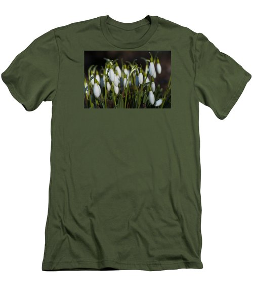 Snowdrops Men's T-Shirt (Athletic Fit)