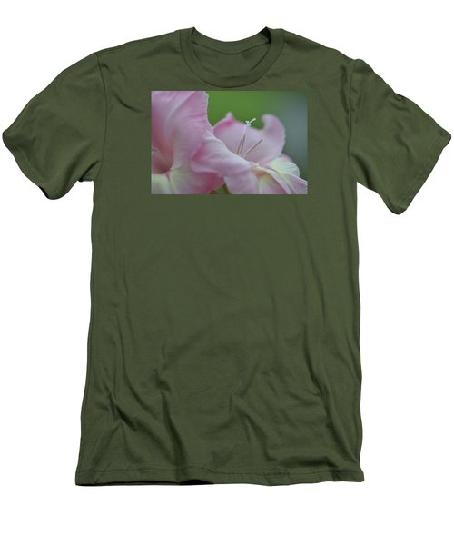 So Glad Men's T-Shirt (Slim Fit) by Teresa Tilley