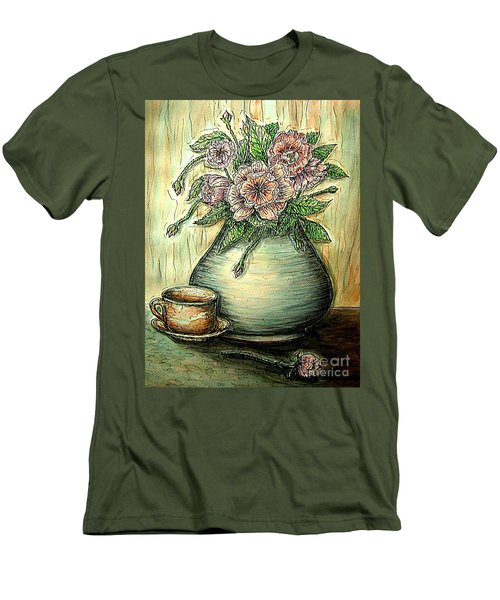 So Serene Men's T-Shirt (Slim Fit) by Kim Jones